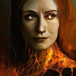 Игра Престолов – Мелисандра арт