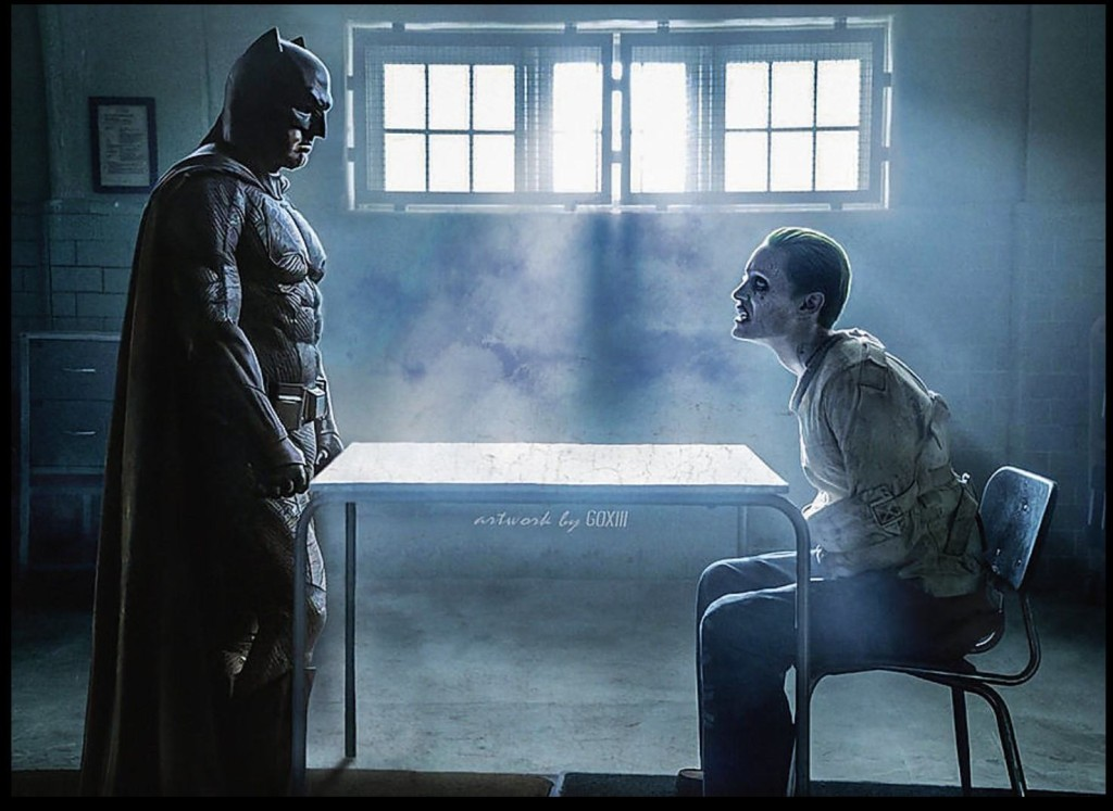 Batman & Joker art