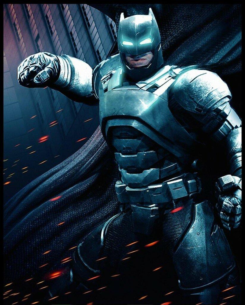Batman v Superman art