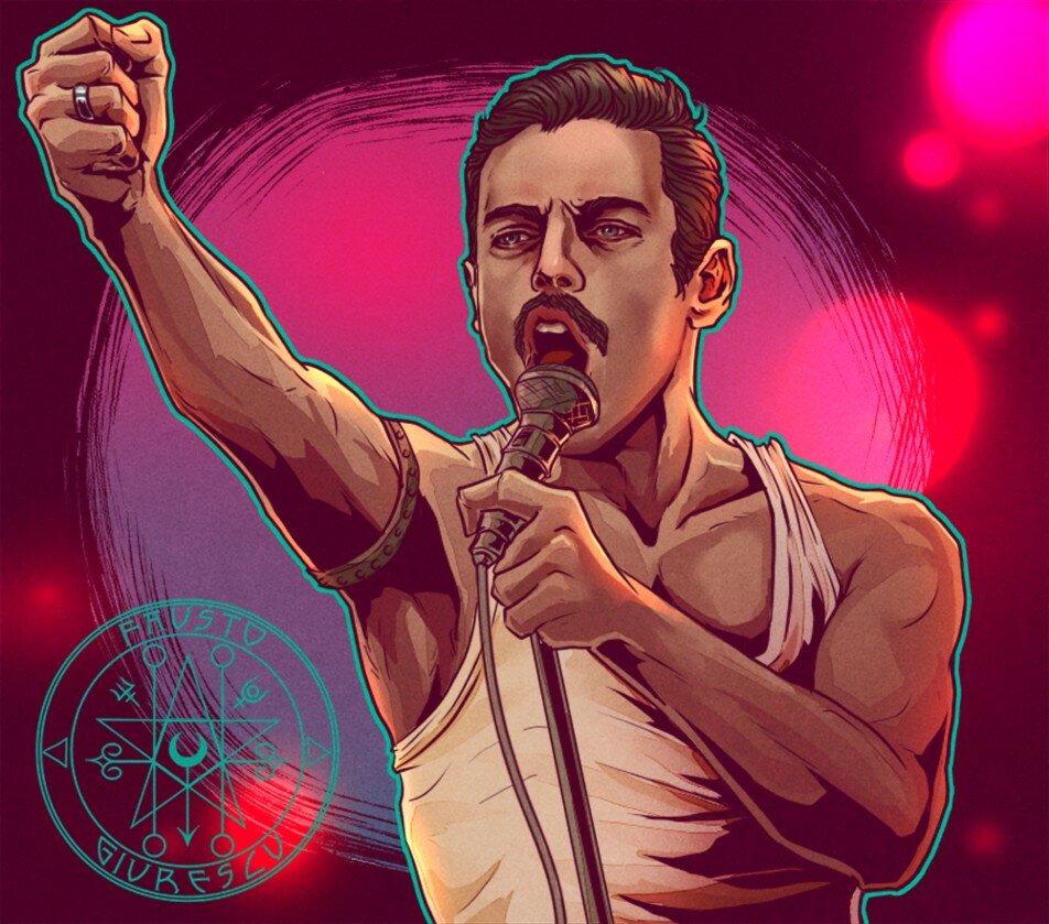 Bohemian Rhapsody 2018 - Rami Malek