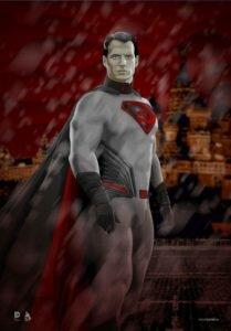 SUPERMAN JUSTICE LEAGUE ART